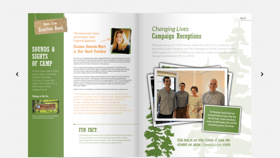 Beckett YMCA NEWS Magazine