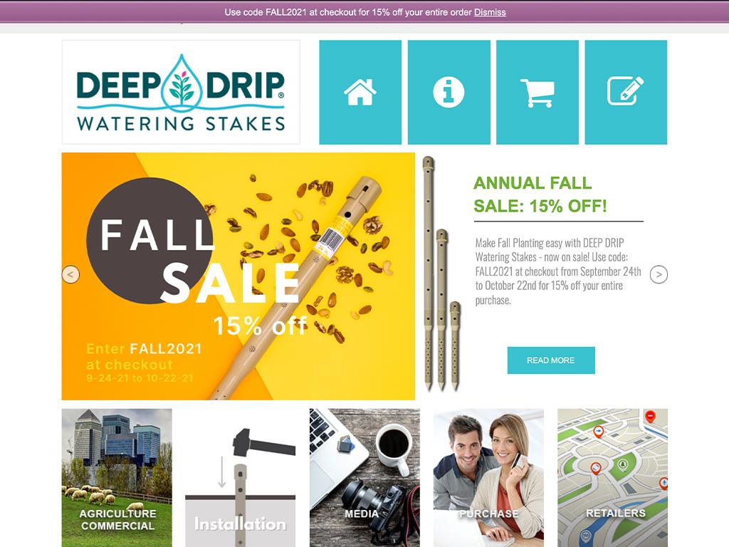 Deep Drip Watering Stakes