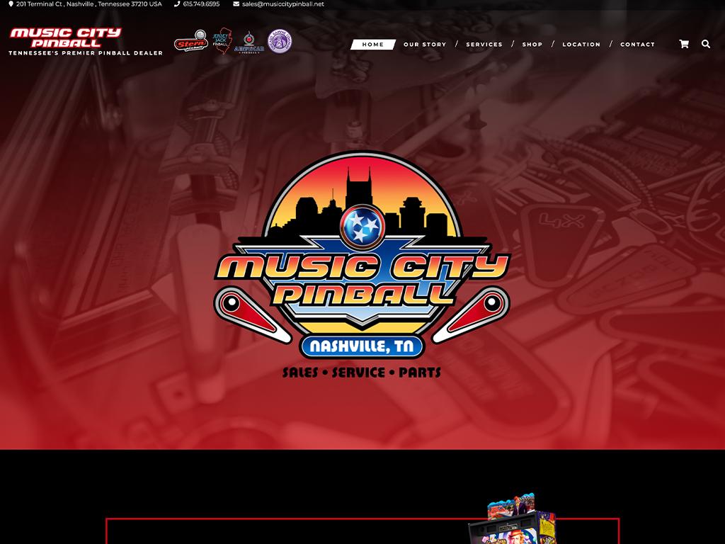 Music City Pinball